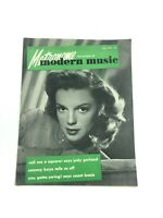 Vintage Metronome Music Magazine May 1947 Judy Garland Wizard of Oz MINT