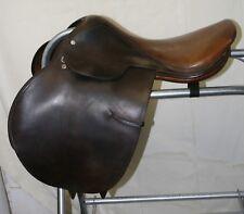 "USED Crosby All Purpose English Saddle - 17"" seat"