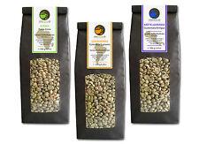 Rohkaffee - Grüner Kaffee Kenia Kolumbien Guatemala (grüne Kaffeebohnen 3x500g)