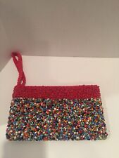 Small Deco Purse, Micro Multi Colored Purse