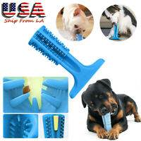 1x Puppy Toy Cleaning Tooth Brushes Teeth Chew Pet Oral Care Dogs Rubber Bone