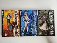 In Dream World Vol. 1-3 by Jae-Ho Yoon Manga Manhwa Book Complete Lot English