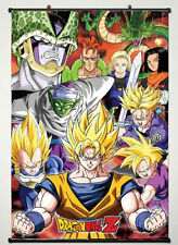 Dragon Ball Z - Super Fighting Hot Japan Anime 60*90cm Wall Scroll Poster @885