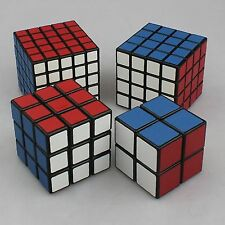 Rubik Cube Magic Puzzle Set Mind Logic Game Twist Toy 2x2x2 3x3x3 4x4x4 5x5x5 BL