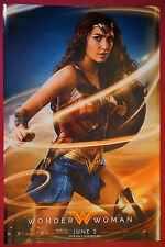 Wonder Woman Gal Gadot 2017 DC Comics Collectible Hero Movie Poster 24X36 NEW