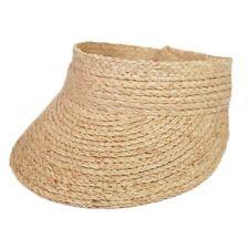 2019 simple ladies uv roll up korean sun visor hat women sun visor straw raffia