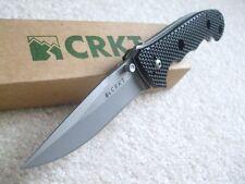 Couteau CRKT Hammond Cruiser Black Lame Acier 8CR13MoV Manche Zytel CR7904