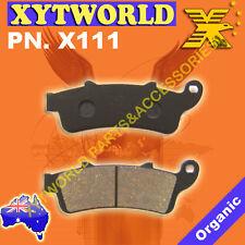 FRONT Brake Pads for Honda NSS 250 Forza Jazz Reflex MF04/MF06 2000-2004