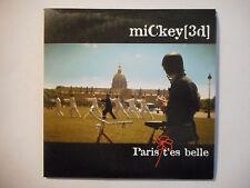 PLAN MEDIA + CD + DVD ▓ MICKEY 3D : PARIS T'ES BELLE