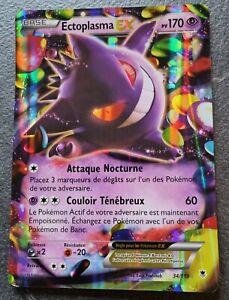 Carte Pokémon Ectoplasma EX jumbo 34/119 XY4 Vigueur Spectrale Promo