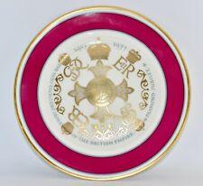 Aynsley 1977 Diamond Jubilee Plate: King George V, VI, Edward VII, QEII (26.8cm)