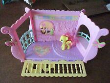 2008 Hasbro My Little Pony Newborn Cuties Baby Nursery Play Set ~ Vguc