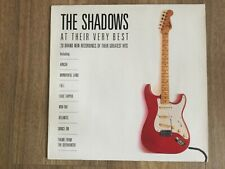 The Shadows - At Their Very Best  UK vinyl LP album record 841520-1 POLYDOR 1989