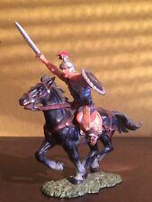 Elastolin 7cm Römer zu Pferd