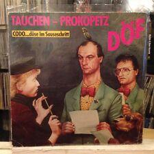 EXC LP~TAUCHEN/PROKOPETZ~DOF~D.o.f.~Duse Im Sauseschritt~[1983~GERMAN IMPORT]~