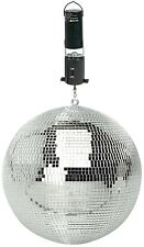"200mm / 8"" DJ Disco Rotating Mirror Ball & Ceiling Mount Battery Operated Motor"