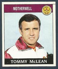 PANINI FOOTBALL 89-#442-MOTHERWELL-TOMMY McLEAN