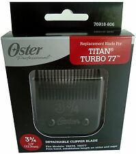 Original OSTER Diamox Blade Size 3 3/4 For Classic 76 Titan Turbo 77 76918-806