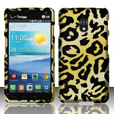 For LG Optimus F7 US780 Rubberized HARD Protector Case Phone Cover Cheetah