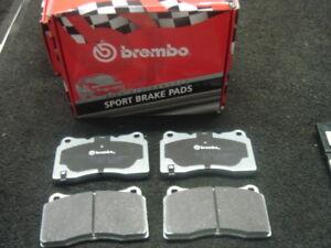 BREMBO BRAKE PADS FRONT FIT FOR IMPREZA WRX STI 2000-2007
