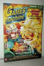 RIVISTA THE GAMES MACHINE ANNO 8 NUMERO 89 SETTEMBRE 1996 USATA ITA VBC 48781