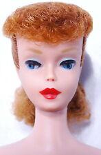 Spectacular Vintage Redhead Ponytail Barbie Doll MINT
