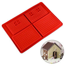 3D Gingerbread Chocolate House Mould Decorating Baking Tool
