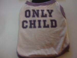 ONLY CHILD  Dog Tank T Shirt XS new puppy xsmall boots & barkley