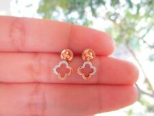 .18 Carat Diamond Rose Gold Dangling Earrings 18k sepvergara
