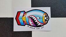 ¡Bombs Away! sticker by ¡DANGER SIGN! hot rod VW custom bomb