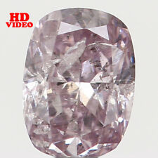 Natural Loose Diamond Oval Intense Pink Color I2 Clarity 3.50 MM 0.12 CT N7132