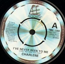 """CHARLENE i've never been to me/somewhere in my life TMG 1260 uk 1976 7"""" WS EX/"""