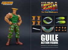 Storm Toys Ultra Street Fighter II Final Challenger GUILE w/ 4 Heads 1/12 Figure