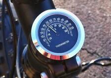 """7/8"""" 1"""" Handlebar Mount Thermometer Fit Honda Shadow Aero Phantom VLX 750 1100"""