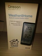 Oregon Scientific Weather @ Home Bluetooth enabled Weather Station BAR218HG Blac