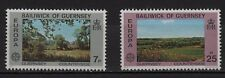 39F** Lot x2 Timbres GUERNSEY (EUROPA 1977) Neuf**MNH TBE