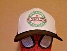 Heineken Beer Cap Trucker hat bar bartender new not vintage old school