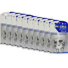 60x 1.4V A 13 Zinc Air Hearing Aid Battery 7000ZD S13A L13ZA 13A AC13E 13SA ZA13