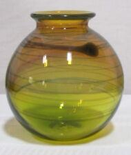 SALAMANDRA ART GLASS, REACTIVE GLASS, ORB OR GLOBE FORM, TRAILINGS, VERY NICE~~~