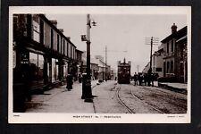 Penydaren, Merthyr Tydfil - High Street - real photographic postcard