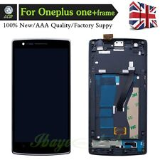For ONEPLUS ONE 1+ A0001 Complete Lcd Touch Screen Digitizer with Frame One Plus