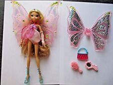 Very RARE Doll WINX CLUB FLORA glam magic ENCHANTIX Mattel 2007 complete