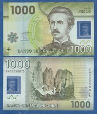 Chile 1000 Pesos P 161 New date 2010 UNC Low Shipping! Combine FREE! Polymer