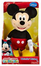 Fisher Price Disney Mickey Mouse Faulty Silly Whistler Plush Ages 2+  Soft Toy