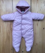 ZARA Mini Baby Schneeanzug Overall NP 60,00  68cm 3-6 Monate