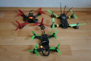 3x FPV Racing Quadrocopter - Defekt oder unvollständig ImmersionRC, T-Motor etc.