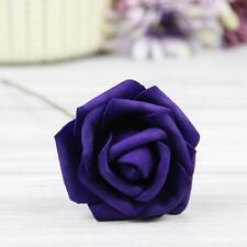 5X 50X Colourfast Foam Roses Artificial Flowers Party Wedding Bouquet Home Decor