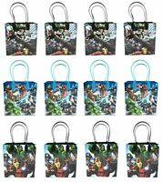 Marvel Avengers Goody Bag Party Goodie Gift Birthday Candy Bags 12pc