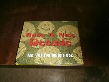 New ListingHave A Nice Decade: The 70s Pop Culture Box (7 Cd Box Set W 160 Tr) Rhino Record