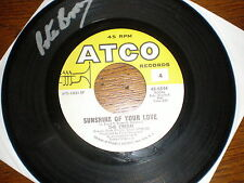 The Cream 45 Sunshine Of Your Love ATCO AUTOGRAPHED BY PETE BROWN